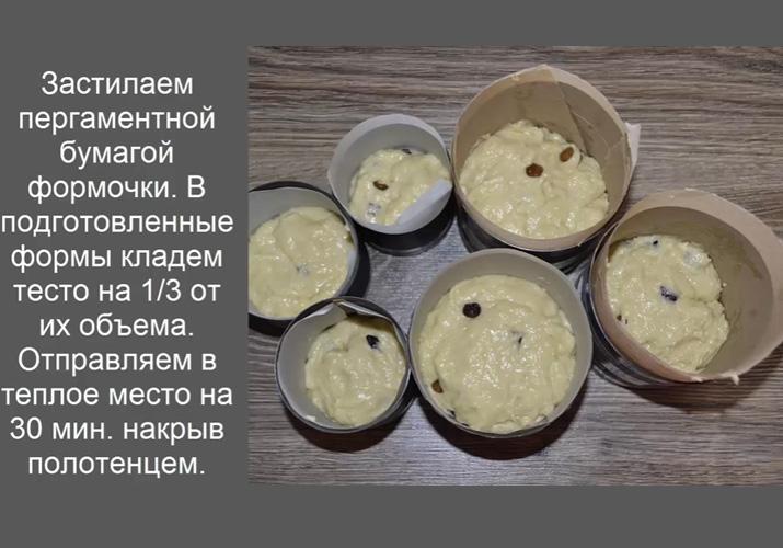 Рецепты самых вкусных пасхальных куличей с пошаговыми фотоРецепты самых вкусных пасхальных куличей с пошаговыми фото