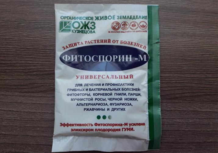 Инструкция по применению «Фитоспорина М» для томатов: принцип действия