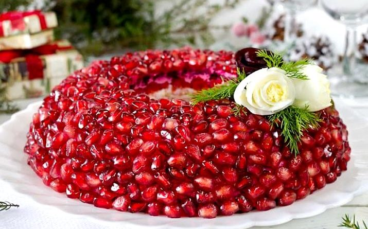 салат Гранатовый браслет